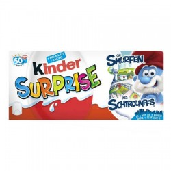 KINDER SURPRISE SCHTROUMPFS MIRACULOUS T144