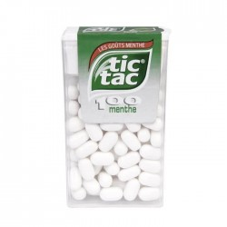 TIC TAC 100 MENTHE BLANCHE X24