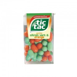 TIC TAC DUO ORANGE CITRON VERT X24