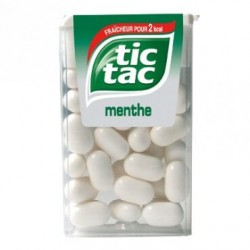 TIC TAC MENTHE BLANCHE X24