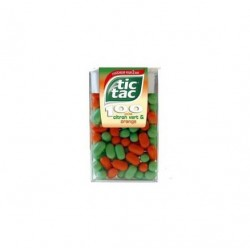 TIC TAC 100 DUO ORANGE CITRON VERT X24