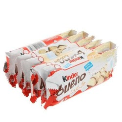 KINDER BUENO WHITE T1 X6 UNIQUEMENT BOX