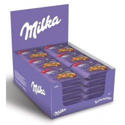 MILKA COOKIES SENSATIONS EMBALLES 52G X24