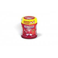 HOLLY BOTTLE RED MIX (FRAISE/CERISE) X6