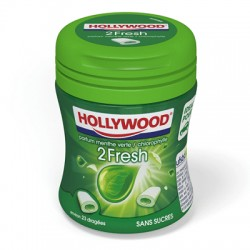 HOLLY MINI BOTTLE 2FRESH MENTHE VERTE 6 X 51G