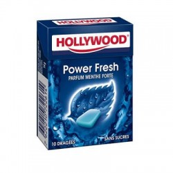 HOLLYWOOD DRAGEE SANS SUCRE POWERFRESH X20