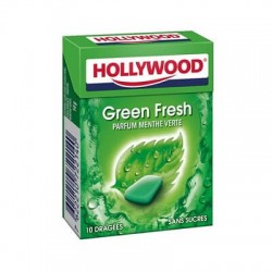 HOLLYWOOD DRAGEE SANS SUCRE GREENFRESH X20