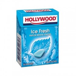 HOLLYWOOD DRAGEE SANS SUCRE ICEFRESH X20