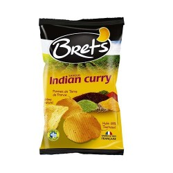 CHIPS BRET'S INDIAN CURRY 125G