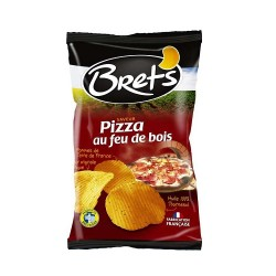 CHIPS BRET'S ARO PIZZA 125G