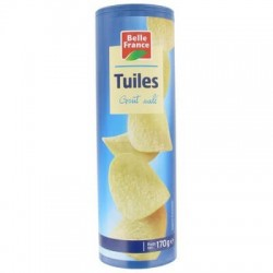 TUILES TUBO SALE BELLE FRANCE 170G