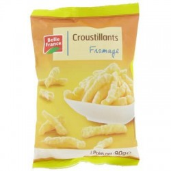 CROUSTILLANTS FROMAGE BELLE FRANCE 90G