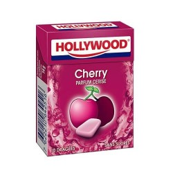 HOLLYWOOD DRAGEE SANS SUCRE CHERRY FRESH X20