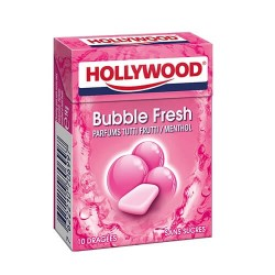 HOLLYWOOD DRAGEE SANS SUCRE BUBBLE FRESH X20