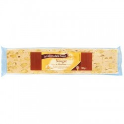 DÉLICES DE BELLE FRANCE NOUGAT MONTELIMAR TENDRE BARRE 200G