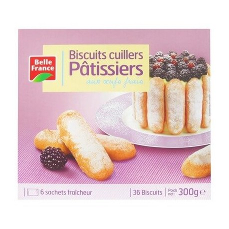 BELLE FRANCE BISCUITS CUILLERS PÂTISSIERS X 36 300G