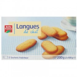 LANGUE DE CHAT ETUI BELLE FRANCE 2X 100G