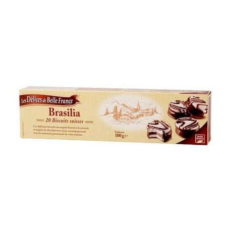 DÉLICES DE BELLE FRANCE BRASILIA PAQUET 100G