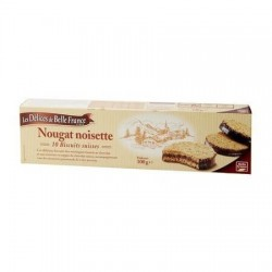 BISCUITS NOUGAT NOISETTE DÉLICES DE BELLE FRANCE 100G