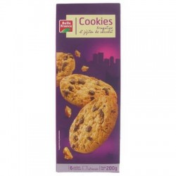 BELLE FRANCE COOKIES CHOCO NOUGAT 200G