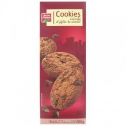 BELLE FRANCE COOKIES TOUT CHOCO PÉPITES 200G