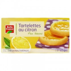 BELLE FRANCE TARTELETTES CITRON 125G