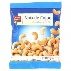 NOIX DE CAJOU SEL INDES BELLE FRANCE 100G