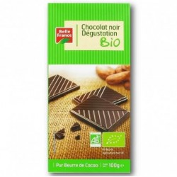 BELLE FRANCE CHOCOLAT NOIR DÉGUSTATION BIO 100G