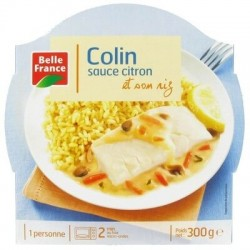 BELLE FRANCE BARQUETTE COLIN CITRON 300G