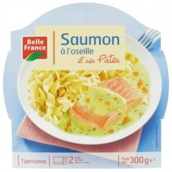 BELLE FRANCE BARQUETTE SAUMON OSEILLE 300G