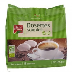 BELLE FRANCE CAFE 18 DOSETTES BIO