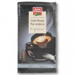 CAFÉ EXPRESSO MOULU BELLE FRANCE 250G