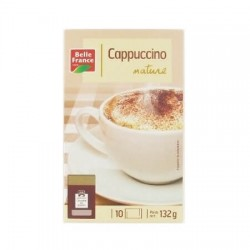 CAPPUCCINO ETUI 10 SACHETS BELLE FRANCE 125G