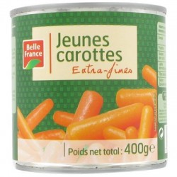 BELLE FRANCE CAROTTES EXTRA FINES 1/2
