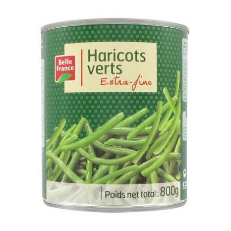 BELLE FRANCE HARICOT VERT EXTRA FIN 4/4