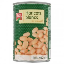 BELLE FRANCE HARICOTS BLANCS 1/2