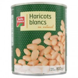 BELLE FRANCE HARICOTS BLANCS 4/4