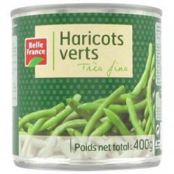BELLE FRANCE HARICOTS VERTS TRES FINS 1/2