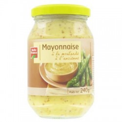 BELLE FRANCE MAYONNAISE MOUTARDE A L'ANCIENNE 250ML