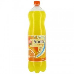 SODA ORANGE PET BELLE France 1.5L X 6