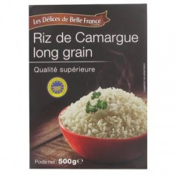 DÉLICES DE BELLE FRANCE RIZ LONG BLANC CAMARGUE 500G