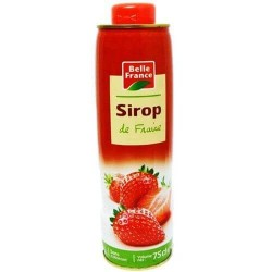 SIROP FRAISE BELLE FRANCE 75CL
