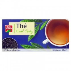 BELLE FRANCE THÉ EARL GREY 25 SACHETS