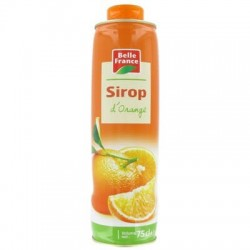 SIROP ORANGE BELLE FRANCE 75CL