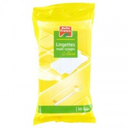 BELLE FRANCE LINGETTES MULTI USAGES CITRON X50