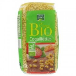 BELLE FRANCE PÂTES BIO COQUILLETTES 500G
