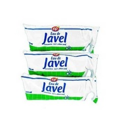 ECOPRIX JAVEL LOT DE 3 DOSES 250ML