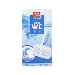 BELLE FRANCE BLOC CUVETTE WC 3 X 40G