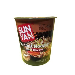 NOUILLES CHINOISES BOEUF SUN YAN CUP 65G