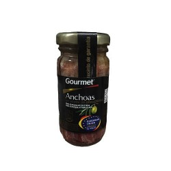GOURMET ANCHOIS HUILE OLIVE BOCAL 6 X 60G